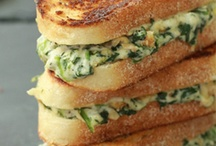 my quest for the best grilled cheese! / by Stacey Bartholomew
