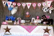 Cowgirl Party Theme