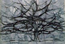 Piet Mondrian / #Mondrian #art #painting