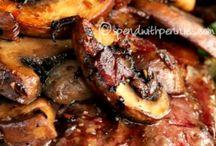 side dish mushrooms