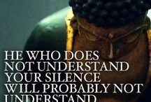 THE SILENT ONE / Self qoutes