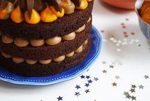 Chocolate orange cointreau gateau