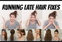 Running late hairstyles / Hair