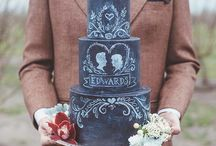 Chalkboard Blackboard Wedding Ideas / Ideas for including chalkboards into your wedding scheme.