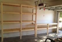Garage ideas / Workshop/garage storage ideas