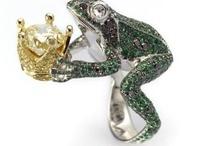 Grenouilles en bijoux