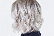 Ice Blond Balayage