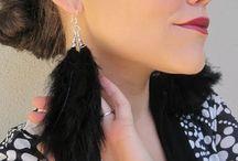 earring d.i.y / by La Danya Friday