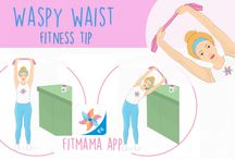 Fitness Tips from FitMama App / No time for exercising or workouts don't bring results? Check our Fitness Tips with ideas that might work for you.