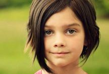 pelo corto niña