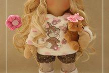 Шьём куклу из текстиля