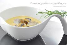 Recetas Cremas y legumbres
