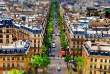 Tilt Shift Paris Series / Tilt Shift Paris Series