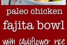 Paleo and keto meals