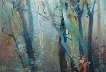schilderijen / Bomen