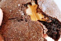 carmel chocolate cookie