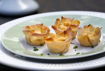 Chinese recipe for appetizer / Crab wanton ragoon recipe..