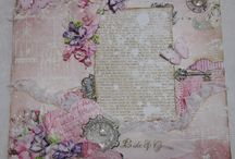 Rina's Scrapbooking Layouts / These are my layout creations...mixed media and shabby chic in style.