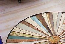 Ocean and Wooden Crafts
