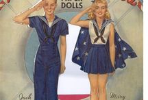 DOLL AND PAPER DOLLS / COLLECTIBLES  / by Judy