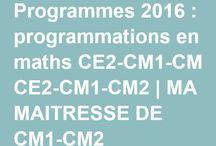 Programme / Progression