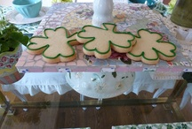 St. Patrick's Day / St. Patrick's Day decor flowers tablescapes