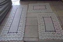 Crochê / Roupas, barrados, mantas e outros feitos de crochê