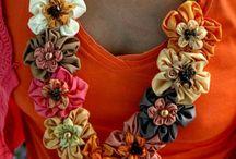 Suffolk puff flower necklace