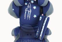 Dětská autosedačka Kiddy Smartfix / Naše vlastní fotky autosedaček, které prodáváme...
