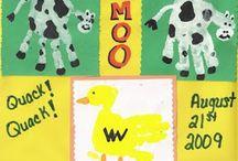 farm animals / by Manda Nell Caton