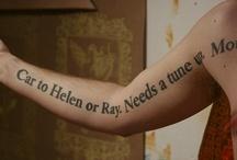 Tattoos / by Beverly Hsu