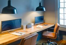 Office Design Ideas and Tips / Design ideas and tips to implement in your home or  commercial office!