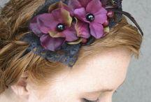 Hair bands DIY / Headbands/hairbands/Alice bands / by Angelina Ng