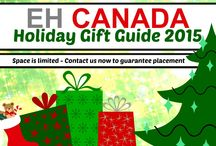EH Canada's 2015 Holiday Gift Guide / Suggestions for fun & practical gift ideas for the special people in your life. We'll be adding reviews and lots of giveaways as we go, so follow along and I bet you'll find the perfect gift here.