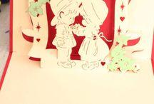 Valentine Day Cards / 14 February Valentine Day Handmade Card Ideas