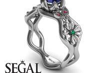 Sapphire Engagement Ring / Sapphire Engagement Ring