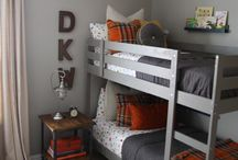Boys Bedroom Ideas / Inspiration for updating the boys bedrooms