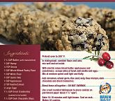 Desserts with Benefits / Stop feeling guilty with these delectable desserts featuring brain healthy ingredients.