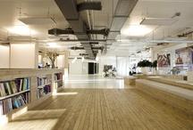 new workspaces / Inspiration für co-working, new work, fun, ....