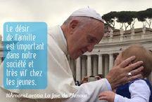 Amoris Laetitia, la Joie de l'Amour du pape François