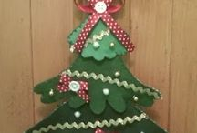Árvore de Natal pra porta