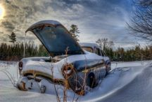 Abandoned Cars / A tribute to the forgotten vehicles :-)