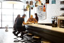 Bar & restaurants / Interiors / by Fidget Design - Interior Architecture and Products