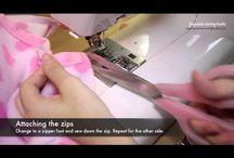 Polár pulcsi varrãsa videóval