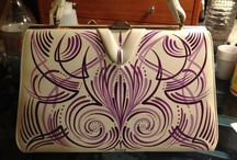 Pinstriping - bags & shoes