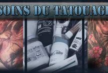 Soins du tatouage | Tattoo aftercare.