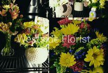 Kaiser Westside Medical Center flower cooler / these arrangements are at Kaiser Westside Medical Center 2875 stucki ave