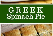 Greek Spanish pie