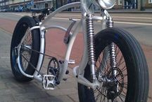 cruiser chopper bicycle / rowery cruiser chopper
