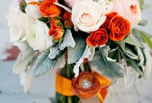 Peach/gray/orange/white